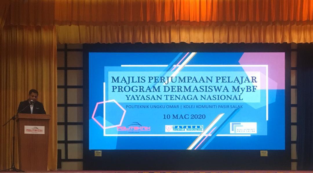 Majlis Perjumpaan Pelajar Program Dermasiswa Mybf Yayasan Tenaga